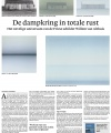 De dampkring in totale rust